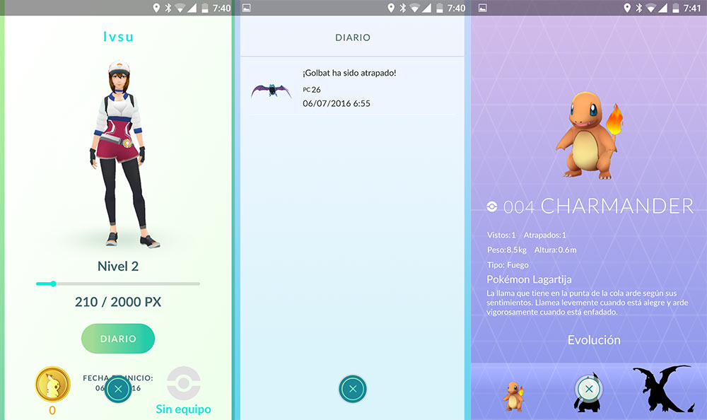 Pokémon GO touchdown for Android