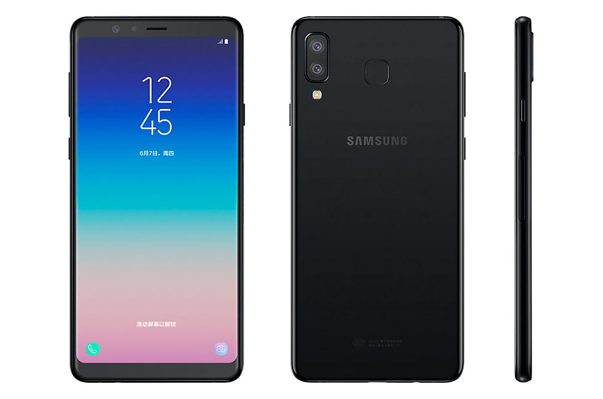 Samsung Galaxy A9 Star and Galaxy A9 Star Lite, with Bixby and dual camera
