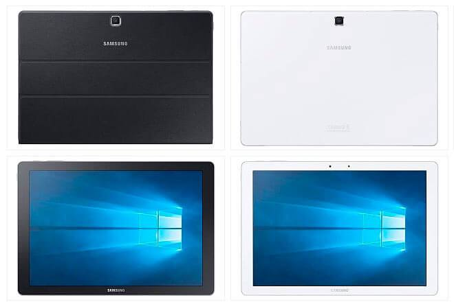 "ces2016-samsung-galaxy-tabpro-s-windows-availability-images-2 ""width ="" 660 ""height ="" 440 ""data-recalc-dims ="" 1 ""data-lazy-srcset ="" https: // i0. wp.com/www.giztab.com/wp-content/uploads/2016/01/ces2016-samsung-galaxy-tabpro-s-windows-disponibilidad-imagenes-2.jpg?w=660&ssl=1 660w, https: / /i0.wp.com/www.giztab.com/wp-content/uploads/2016/01/ces2016-samsung-galaxy-tabpro-s-windows-availability-imagenes-2.jpg?resize=300%2C200&ssl=1 300w ""data-lazy-sizes ="" (max-width: 660px) 100vw, 660px ""data-lazy-src ="" https://i0.wp.com/www.giztab.com/wp-content/uploads/2016 /01/ces2016-samsung-galaxy-tabpro-s-windows-availability-imagenes-2.jpg?resize=660%2C440&is-pending-load=1 ""srcset ="" data: image / gif; base64, R0lGODlhAQABAIAAAAAAAP /// and H5BAEAAAAALAAAAAABAAEAAAIBRAA7 ""/></p><blockquote><p>Thanks to the Windows 10 Home and Windows 10 Pro operating systems for companies, both end consumers and corporations can take advantage of the Windows Operating System, as well as the compatibility with their IT infrastructure.</p></blockquote><p>With regard to other features of this proposal of the one founded by Lee Byung-chul, it is worth mentioning that <strong>It has an Inter Core M processor</strong>, a thickness of 6.3 millimeters and a weight of 693 grams. In addition, it comes with fundateclado that helps to improve the usability of the equipment.</p><p>Concerning the last, it has been known that<strong> The keyboard hinge facilitates two positions for a more comfortable display</strong> in any situation and the Pogo plug eliminates the need to pair or charge separately. In addition, the touchpad on the keyboard – similar to that on a PC – helps to have easier control, even when using Stand Mode.</p><p><img class="