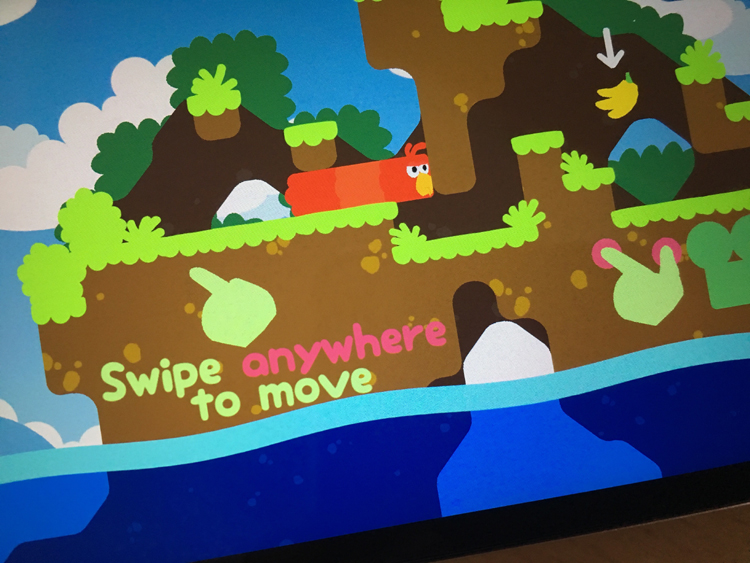 The Snakebird Puzzle Game