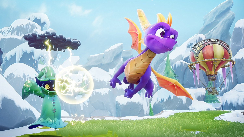 Spyro restarts the triloga