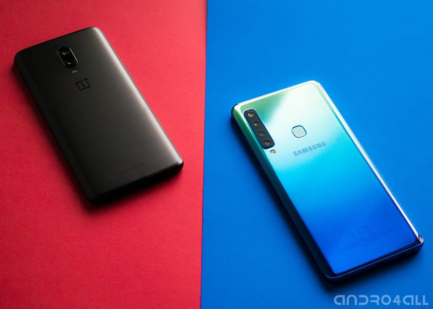 Comparativas de móviles: OnePlus vs Samsung