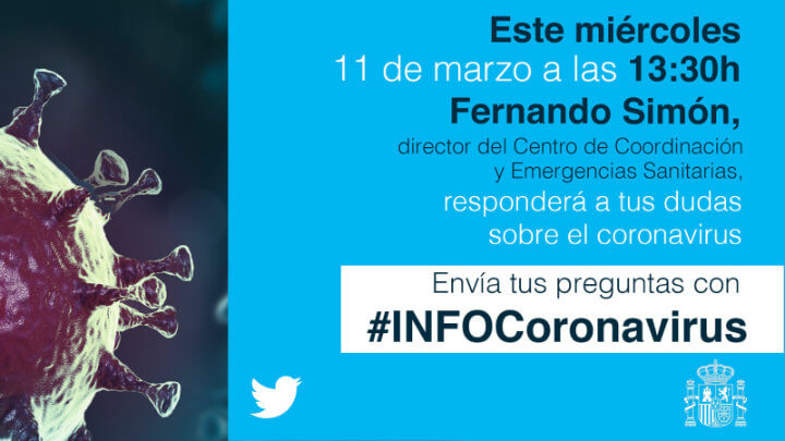 Image - The Government will answer questions about the coronavirus on Twitter