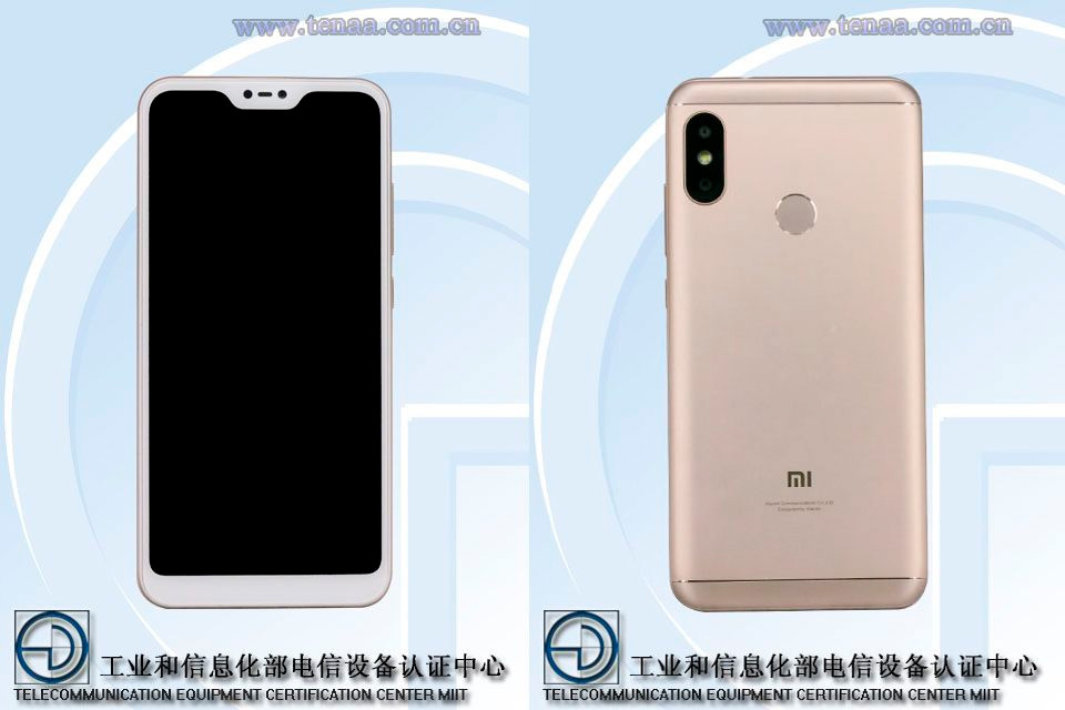The Xiaomi Redmi 6 Pro leaks again: images and features