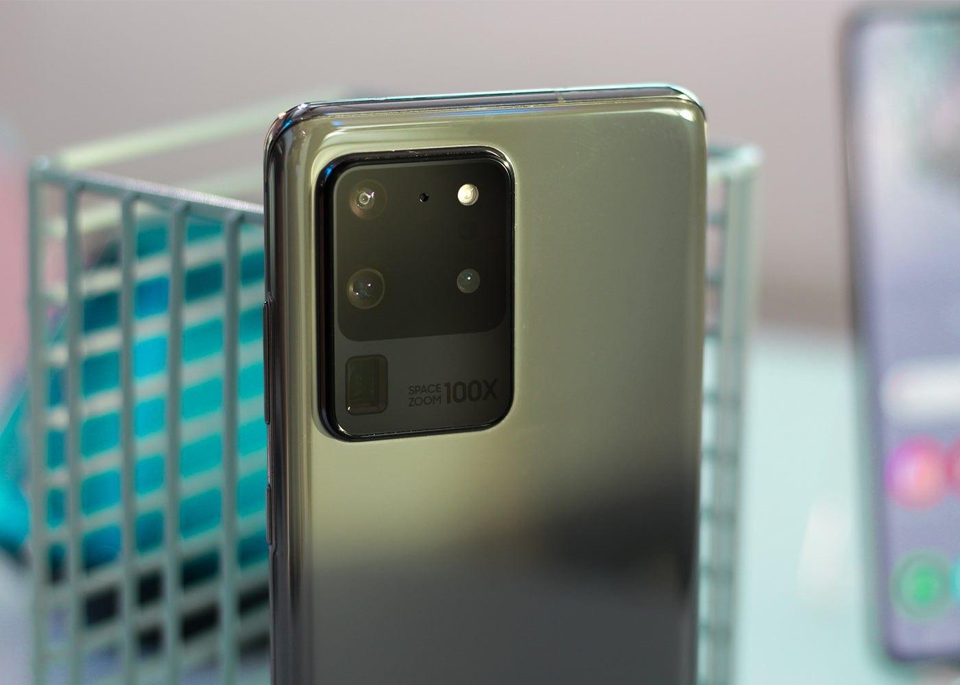 Samsung Galaxy S20 Ultra, rear cameras