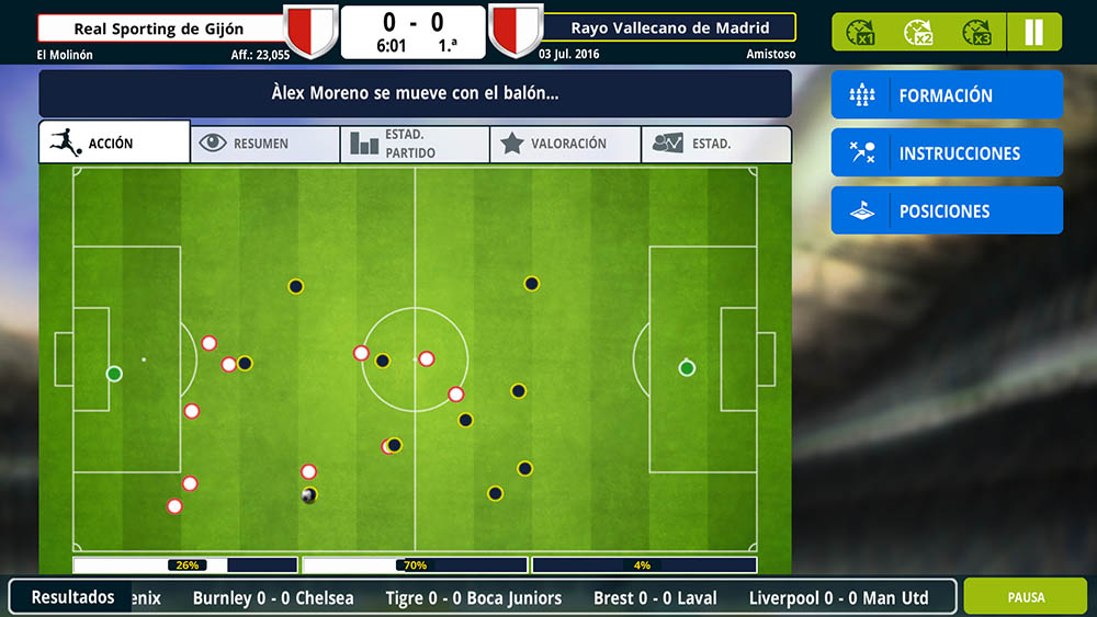Train your favorite soccer team with Championship Manager 17