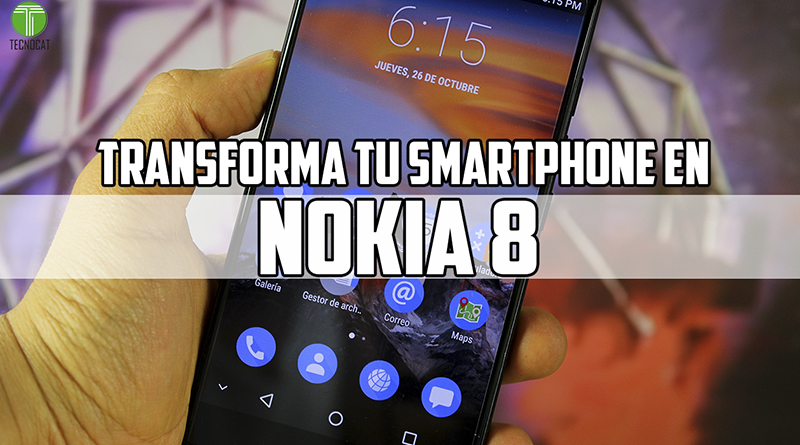 Turn your smartphone into Nokia 8