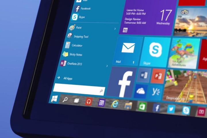 Windows 10 operating system screenshot