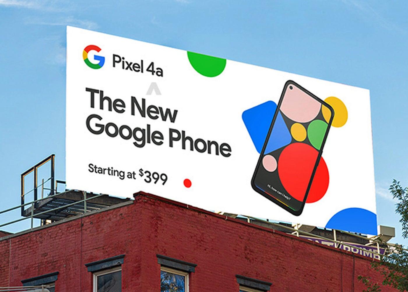 Google Pixel 4a, price