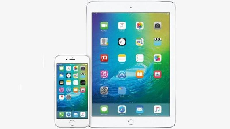 ipad iphone ios9