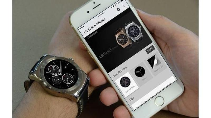 lg watch urbane y iphone