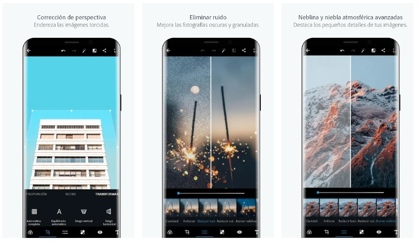 """app photoshop express """"width ="""" 831 """"height ="""" 479 """"srcset ="""" https://www.funzen.net/wp-content/uploads/2020/04/The-best-apps-to-create-photo-montages-on-Android.jpg 831w, https: // androidayuda.com/app/uploads-androidayuda.com/2020/01/photoshop-express-1-300x173.jpg 300w, https://androidayuda.com/app/uploads-androidayuda.com/2020/01/photoshop-express -1-630x363.jpg 630w, https://androidayuda.com/app/uploads-androidayuda.com/2020/01/photoshop-express-1-768x443.jpg 768w """"sizes ="""" (max-width: 831px) 100vw , 831px"""