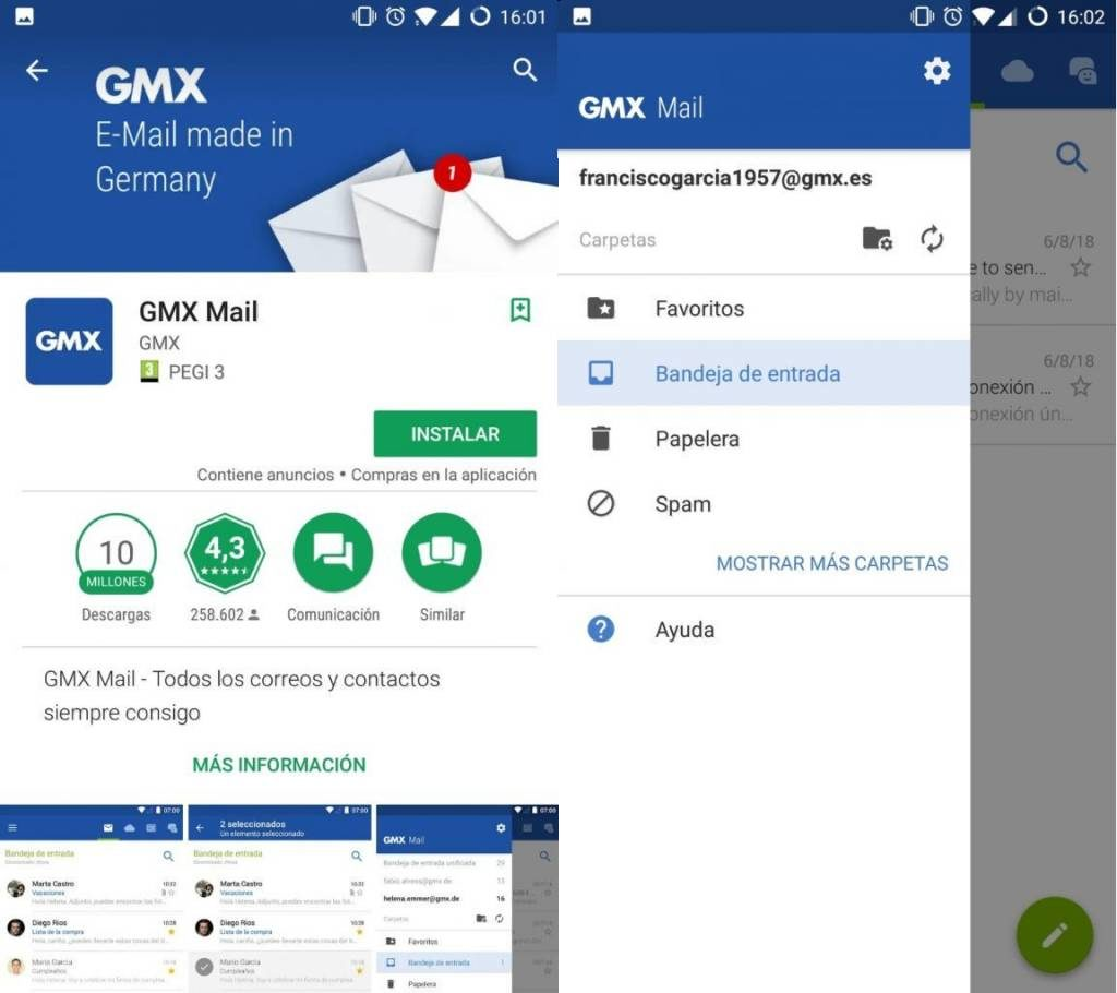 🎖 Email How can I set up my GMX Mail in Android and